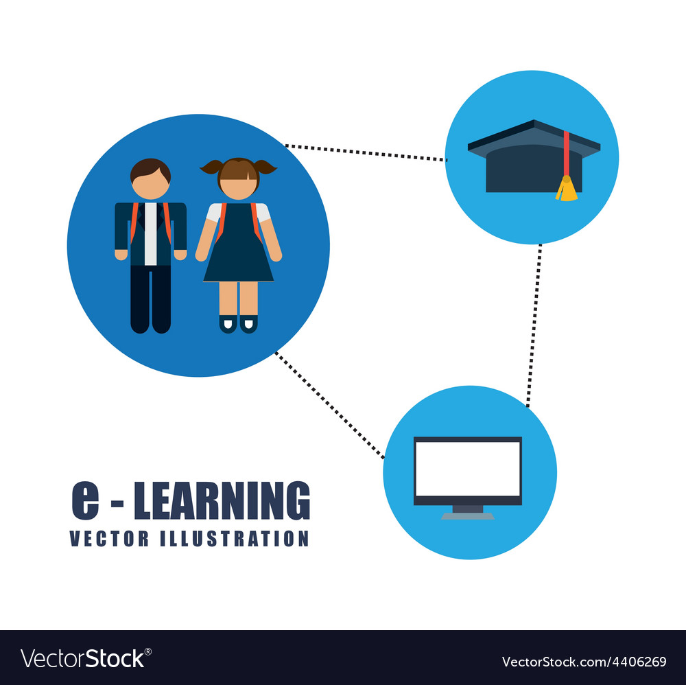 E-learning concept vector   Price: 1 Credit (USD $1)