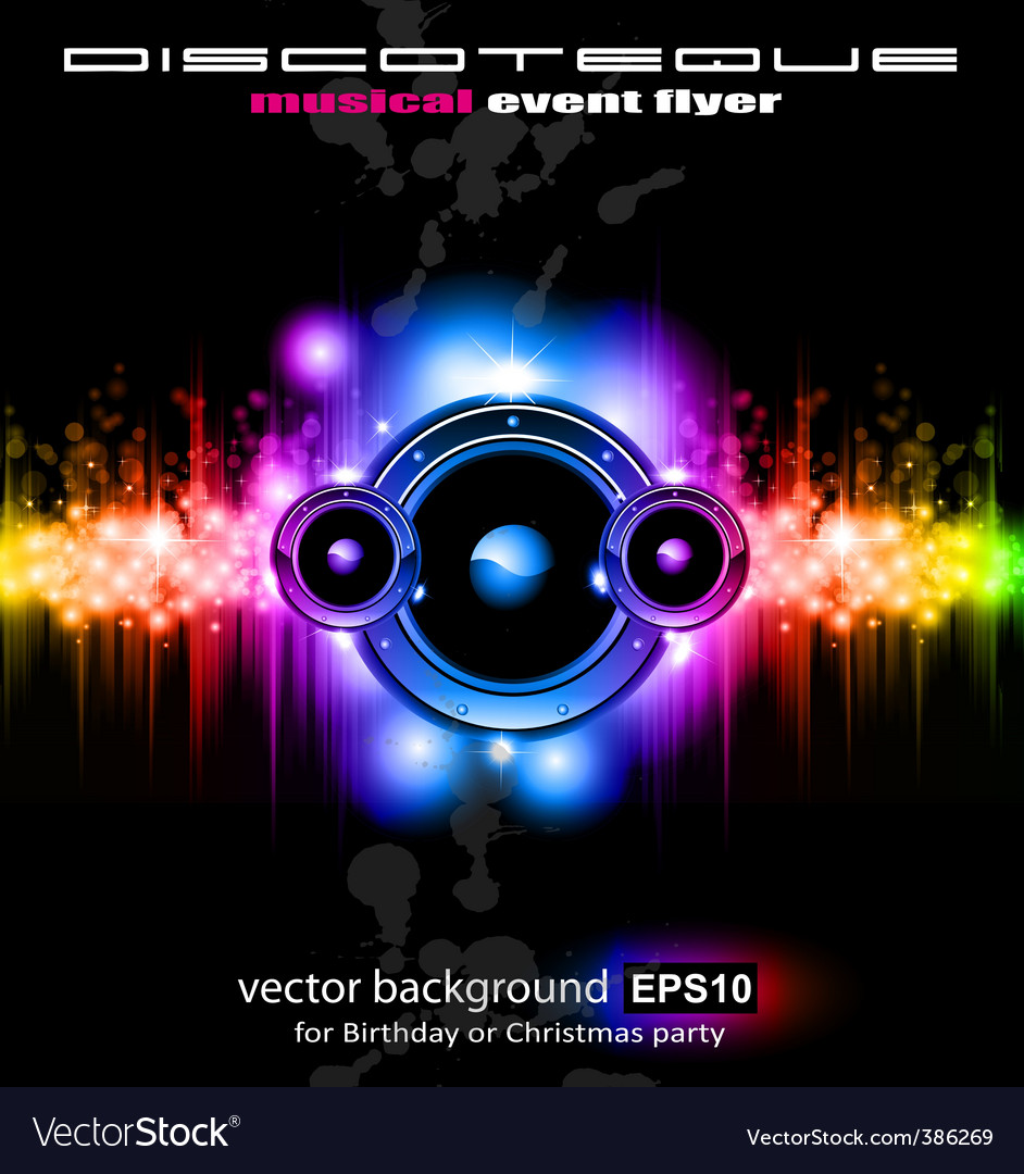 Futuristic music vector | Price: 3 Credit (USD $3)