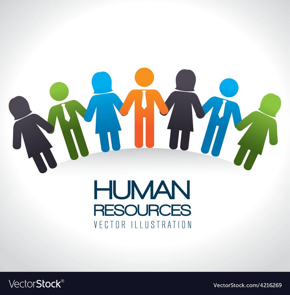 Human resources vector   Price: 1 Credit (USD $1)