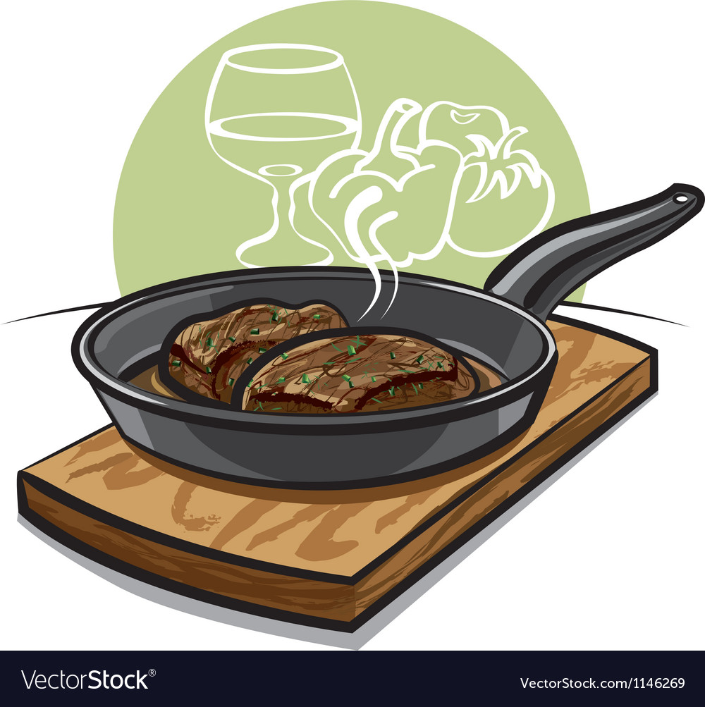 Steak vector | Price: 1 Credit (USD $1)