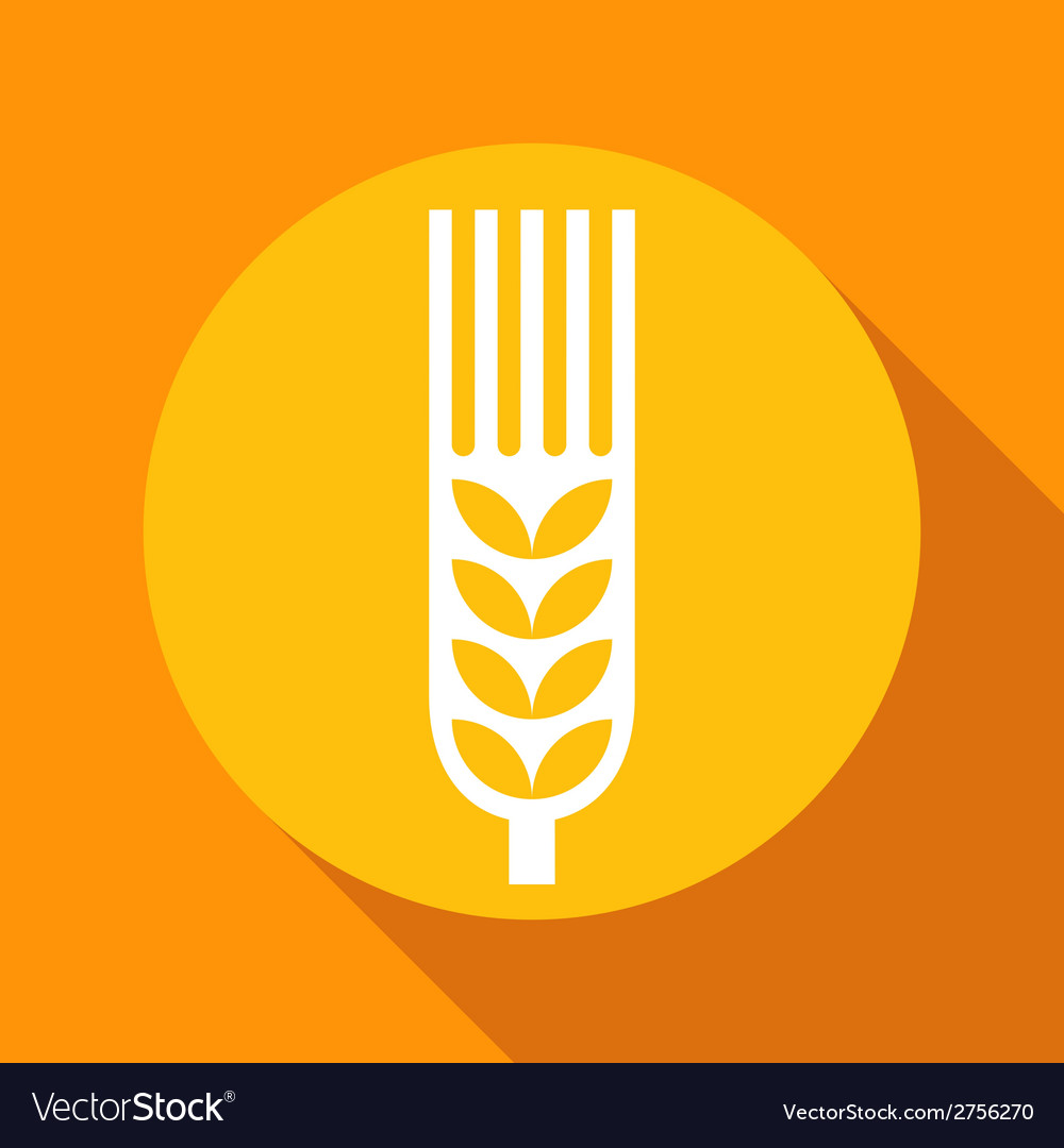 Grain sign 1 vector