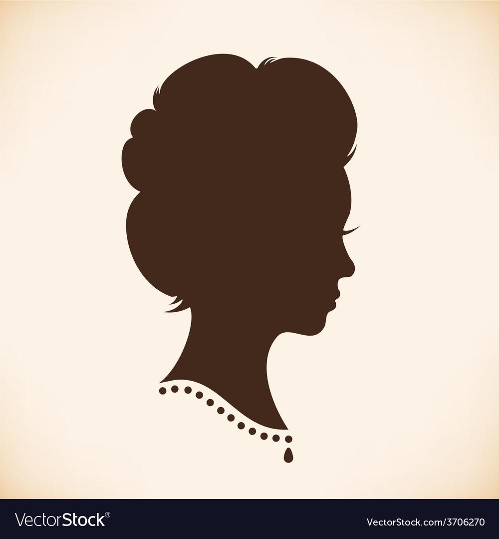 Vintage woman design vector | Price: 1 Credit (USD $1)
