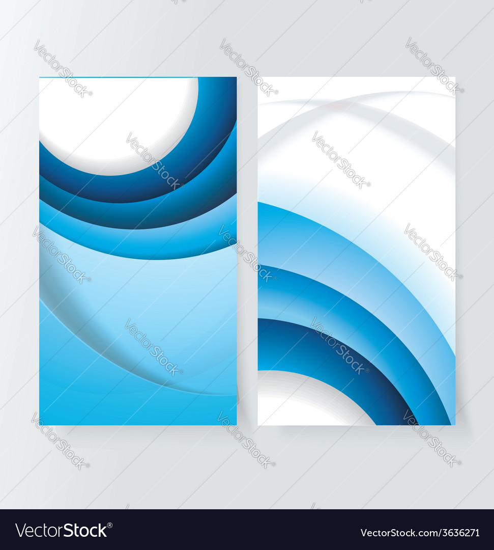Banner set with blue background vector   Price: 1 Credit (USD $1)