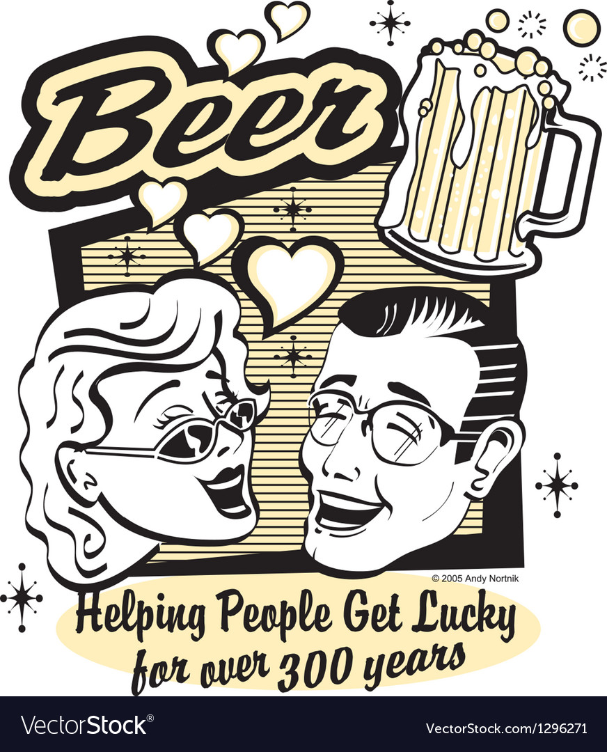 Beer humor vector | Price: 1 Credit (USD $1)