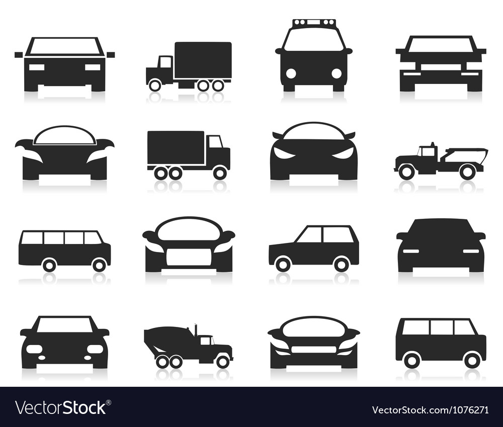 Car icon3 vector | Price: 1 Credit (USD $1)