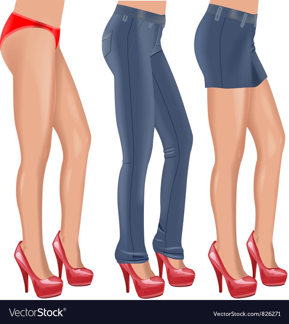 Sexy legs vector | Price: 3 Credit (USD $3)