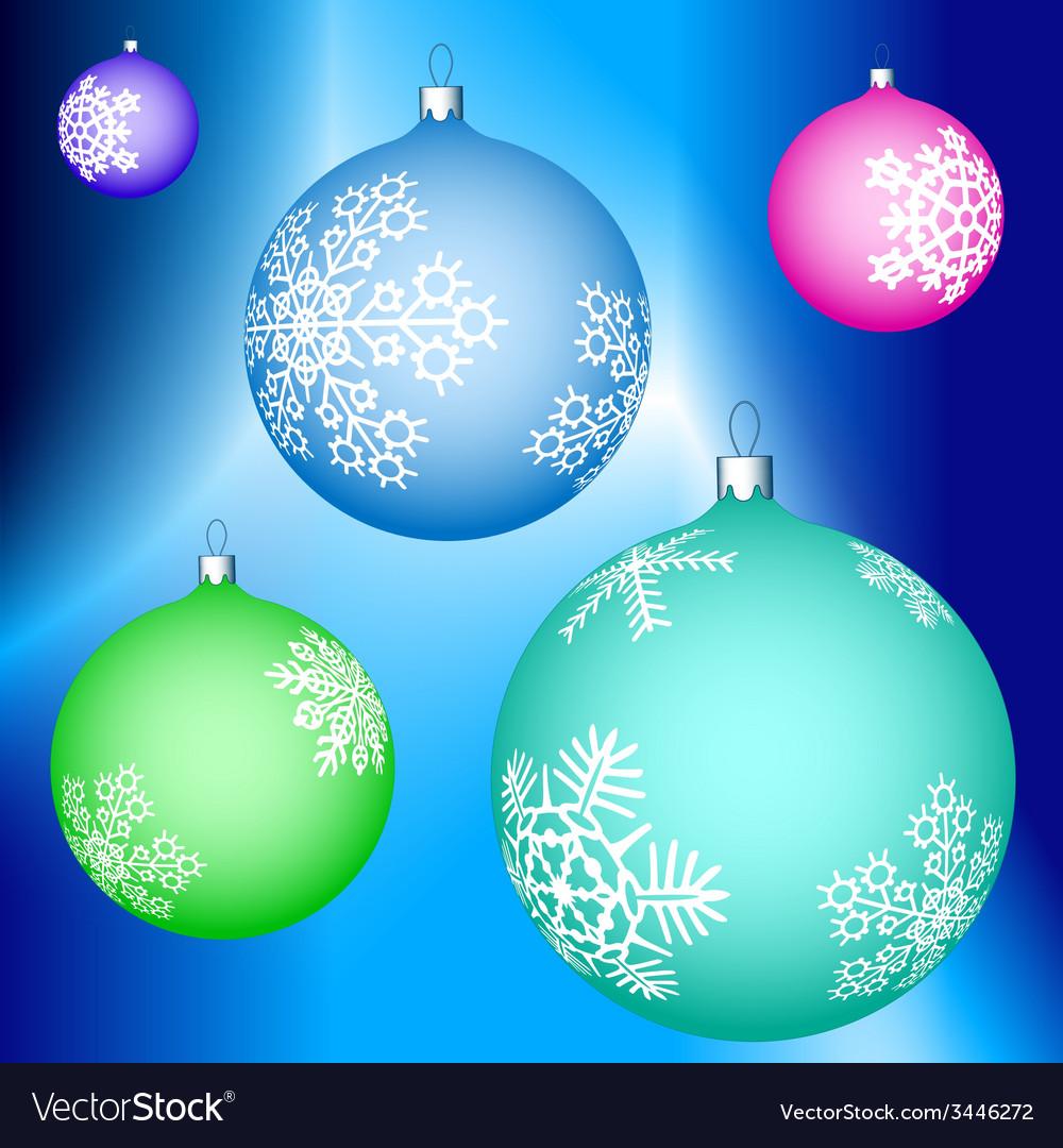 Cristmas balls decoration vector   Price: 1 Credit (USD $1)