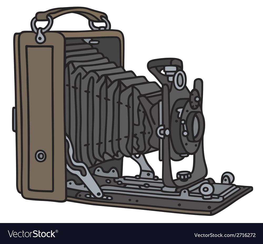 Vintage camera vector   Price: 1 Credit (USD $1)