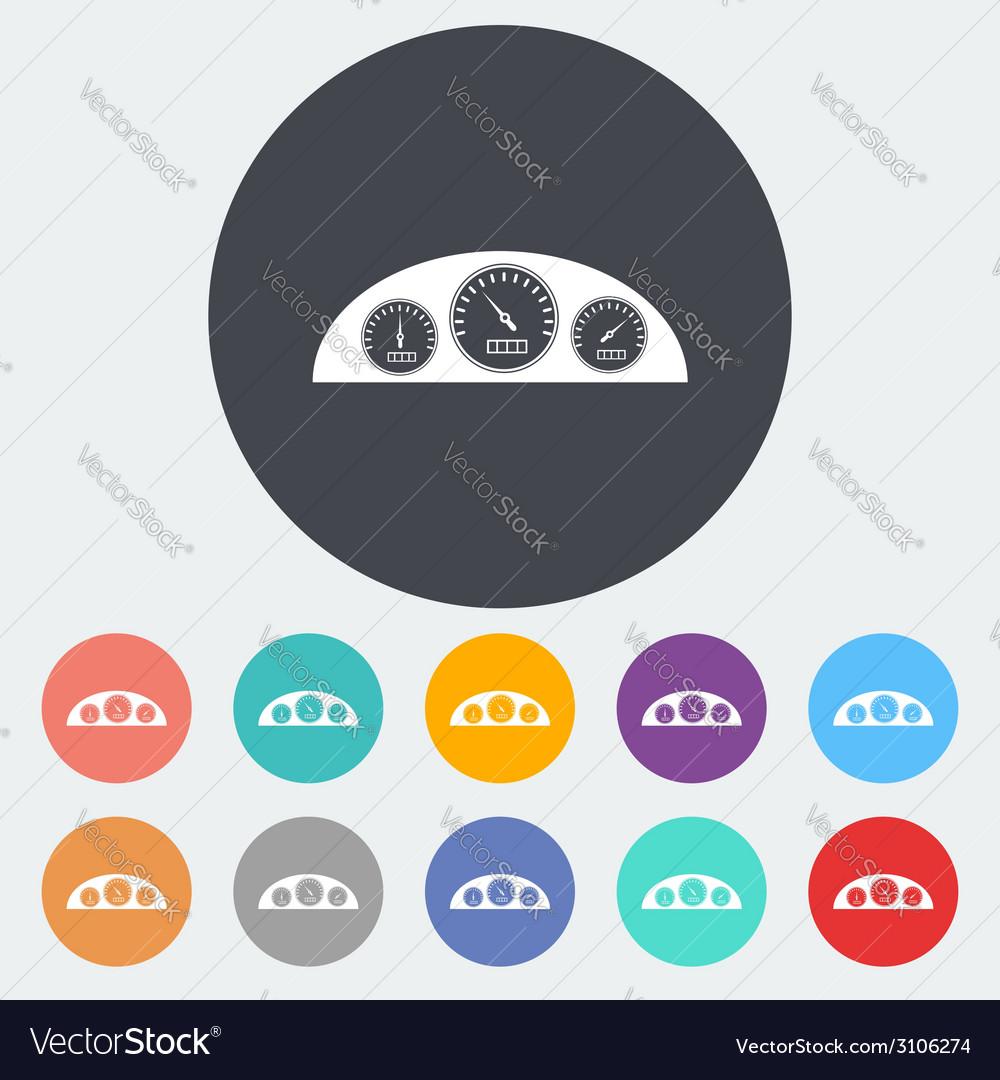 Icon dashboard vector | Price: 1 Credit (USD $1)