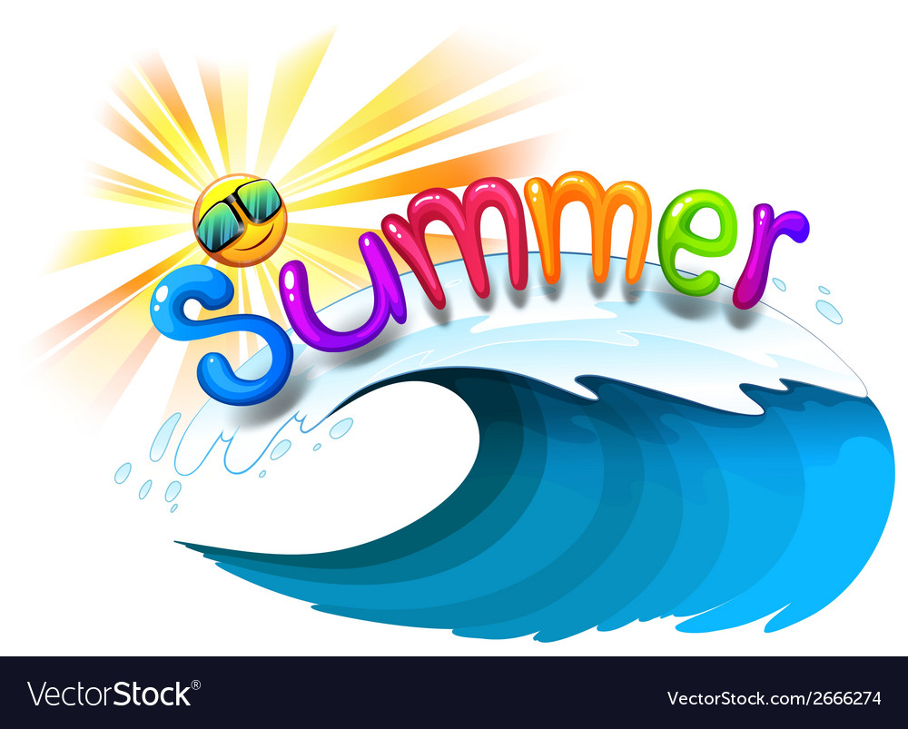 Summer artwork vector | Price: 1 Credit (USD $1)