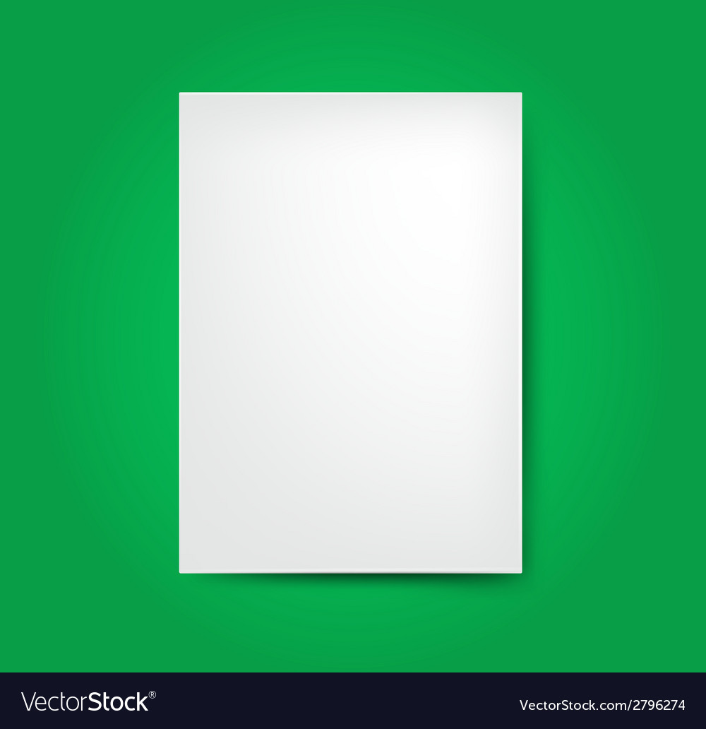 White list of paper vector | Price: 1 Credit (USD $1)