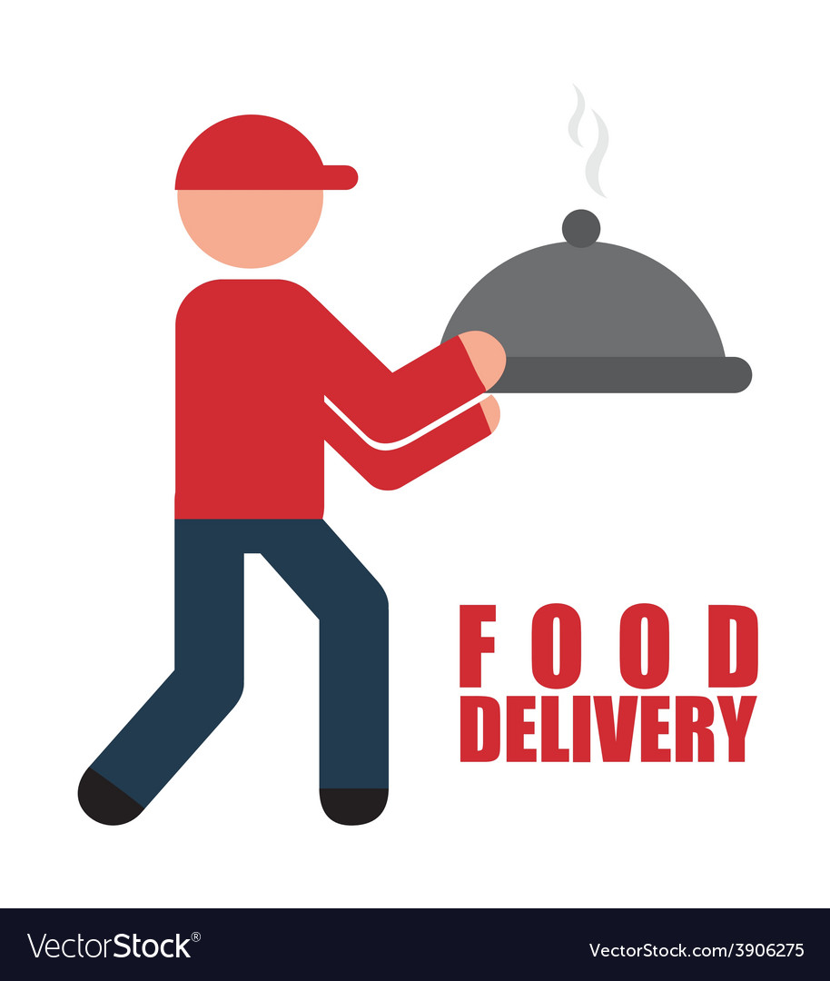 Food delivery design vector   Price: 1 Credit (USD $1)