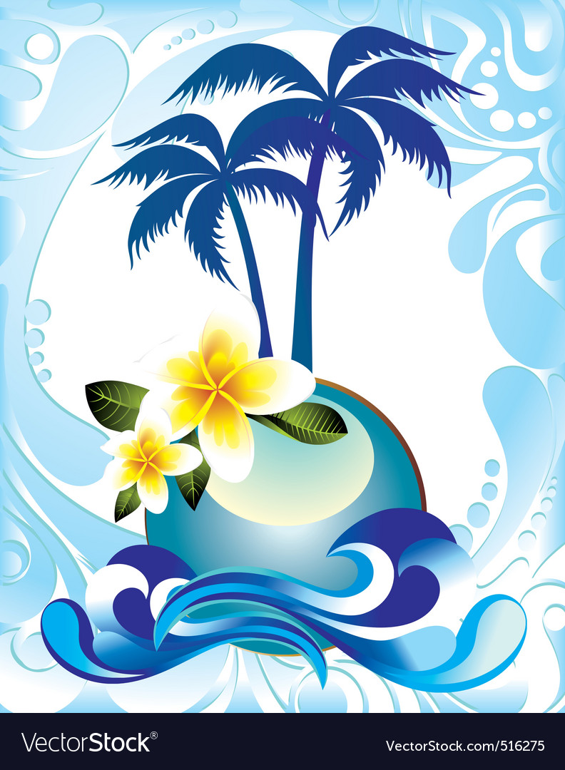 Summer card vector | Price: 3 Credit (USD $3)
