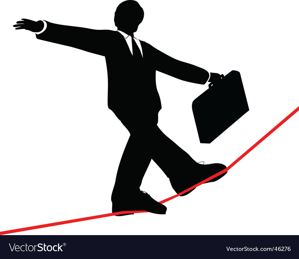 Business man vector | Price: 1 Credit (USD $1)