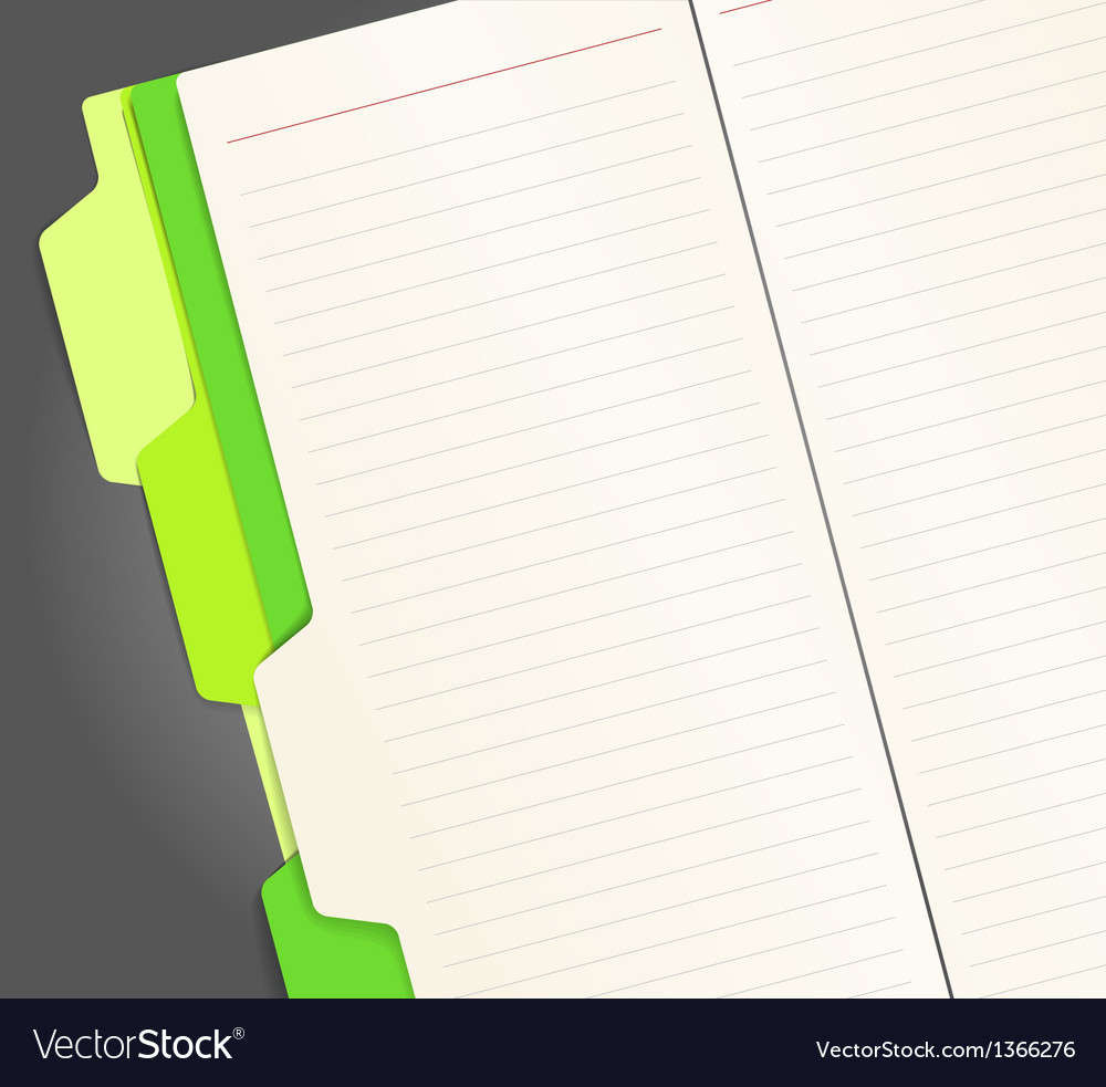 Copy-book pages vector | Price: 1 Credit (USD $1)