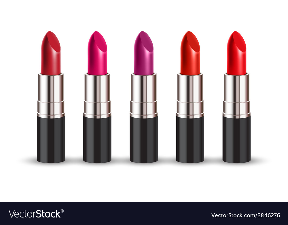 Lipstick set vector | Price: 1 Credit (USD $1)