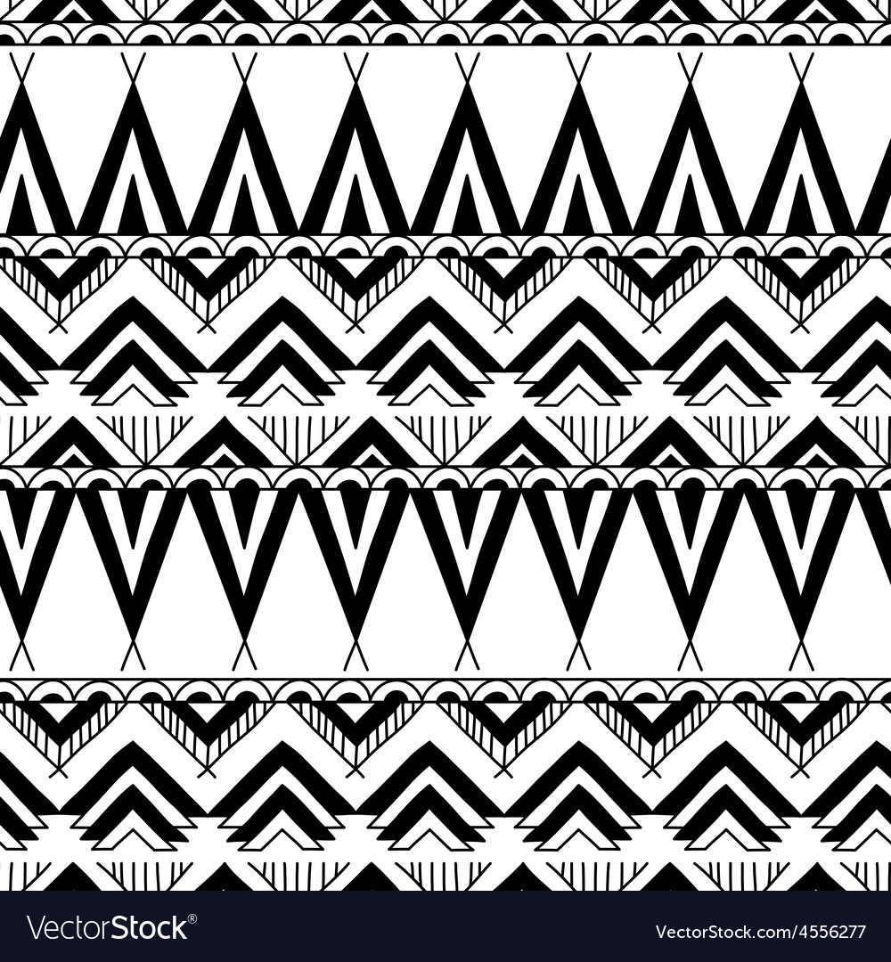 Ethnic ornamental textile seamless pattern vector | Price: 1 Credit (USD $1)