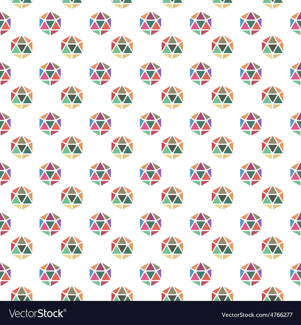 Geometric hexagon pattern vector | Price: 1 Credit (USD $1)