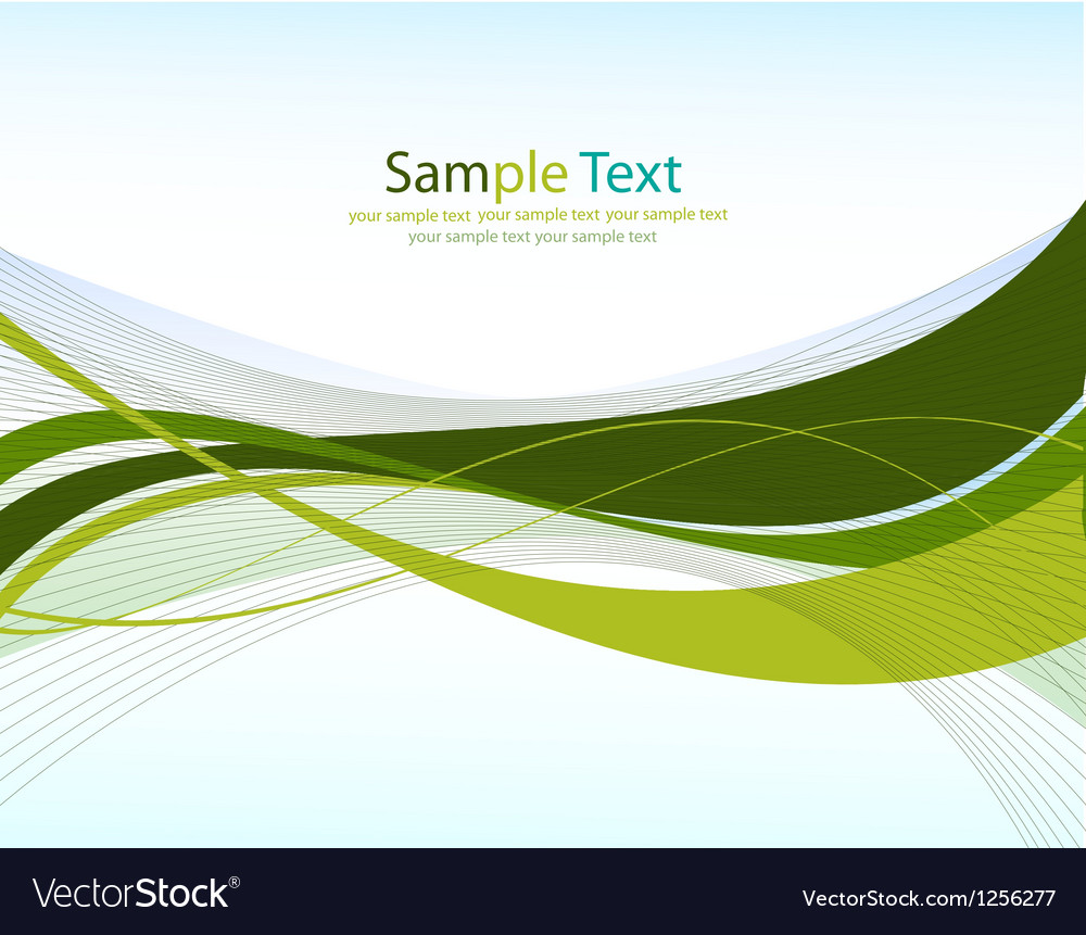 Green linesabstract background vector | Price: 1 Credit (USD $1)