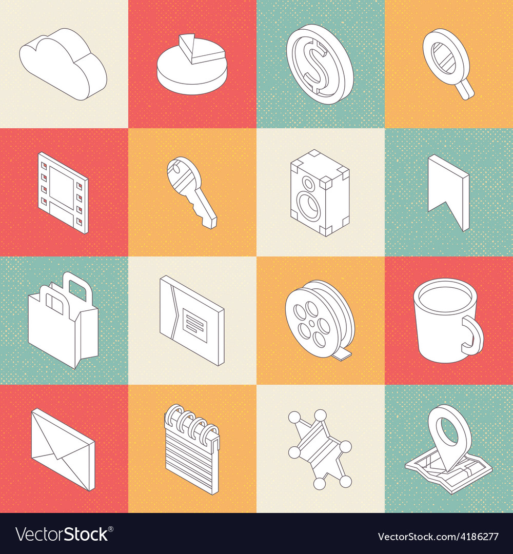 Modern flat icons 1 vector | Price: 1 Credit (USD $1)