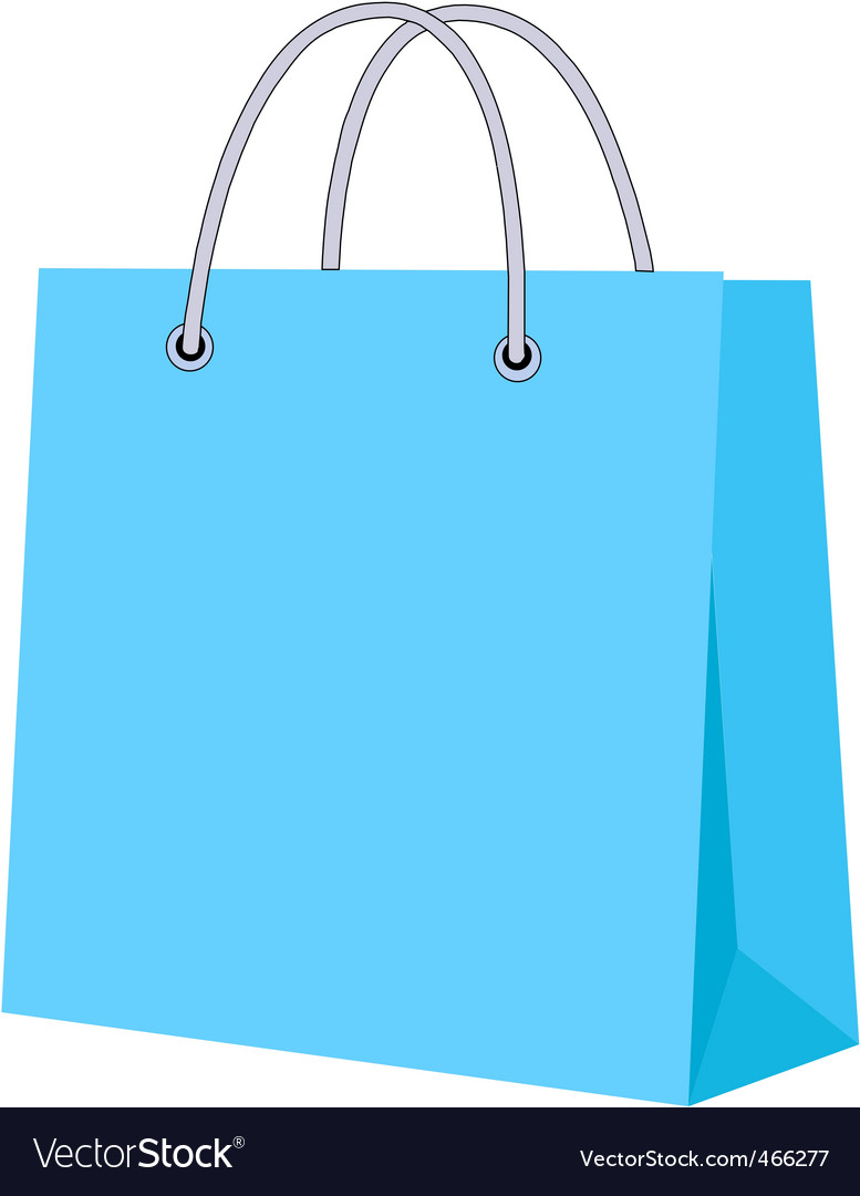 Paper carrier bag vector | Price: 1 Credit (USD $1)
