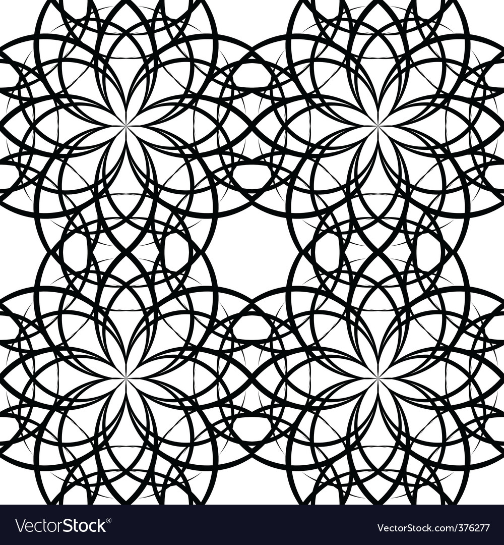 Illustration sieamles tile ornate pattern vector | Price: 1 Credit (USD $1)