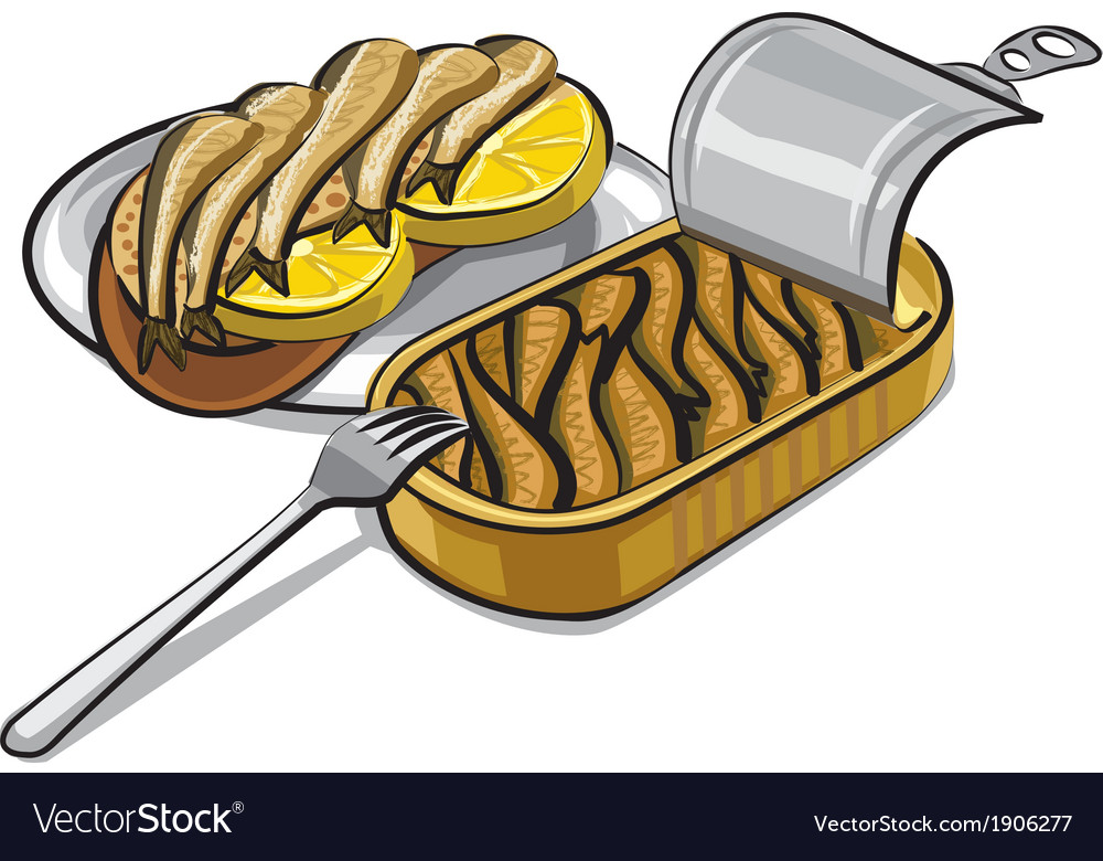Sprats with sandwich vector | Price: 3 Credit (USD $3)