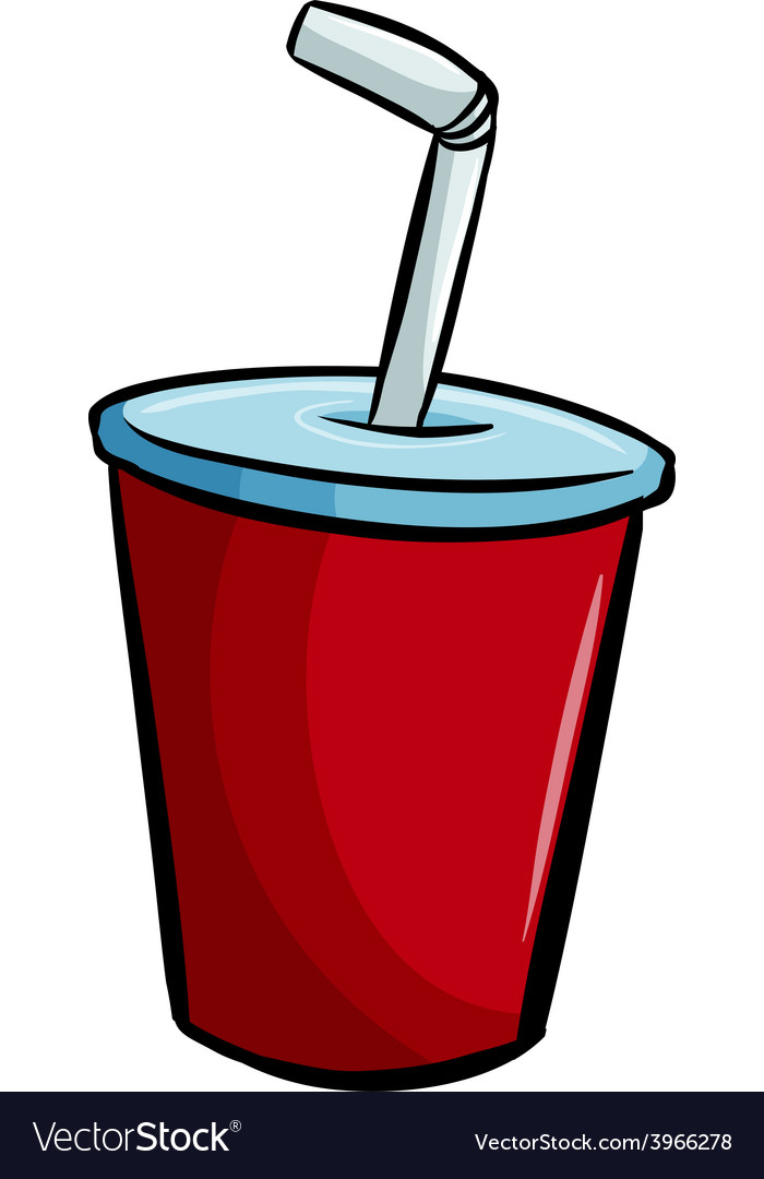A soda for pigging out vector | Price: 1 Credit (USD $1)