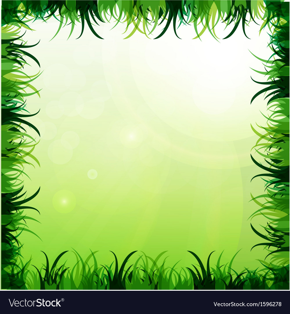 Gras frame vector | Price: 1 Credit (USD $1)