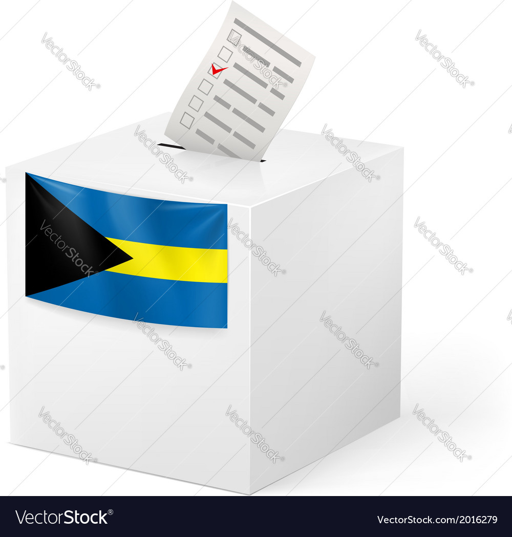 Ballot box with voting paper commonwealth of the vector | Price: 1 Credit (USD $1)