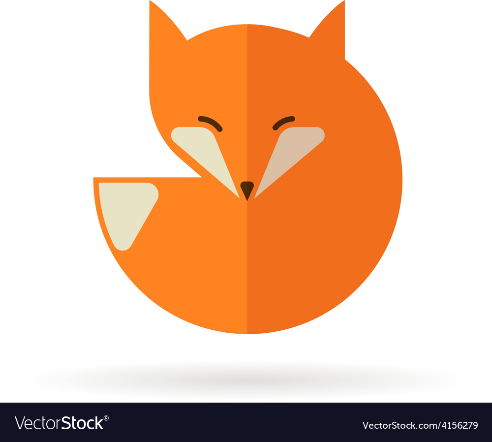 Fox icon and element vector | Price: 1 Credit (USD $1)