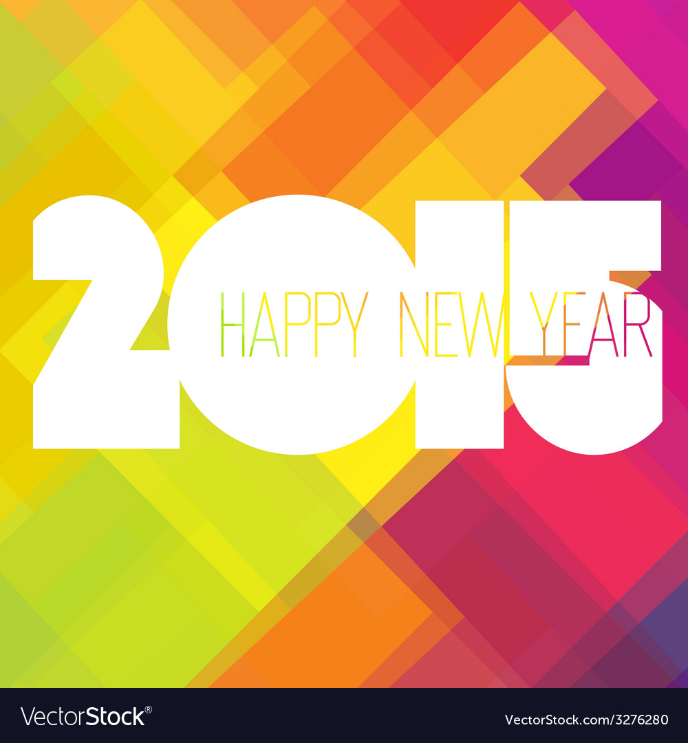 2015 colorful design vector | Price: 1 Credit (USD $1)