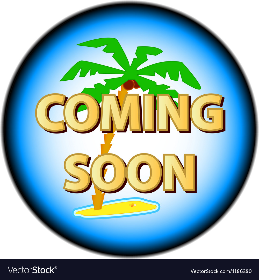Coming soon logo vector | Price: 1 Credit (USD $1)