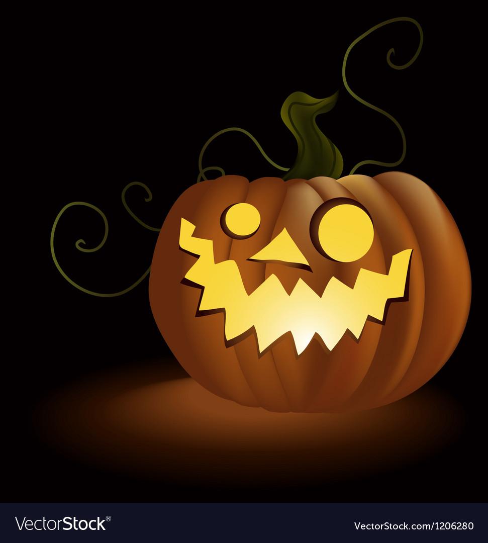 Halloween pumpkin vector   Price: 1 Credit (USD $1)