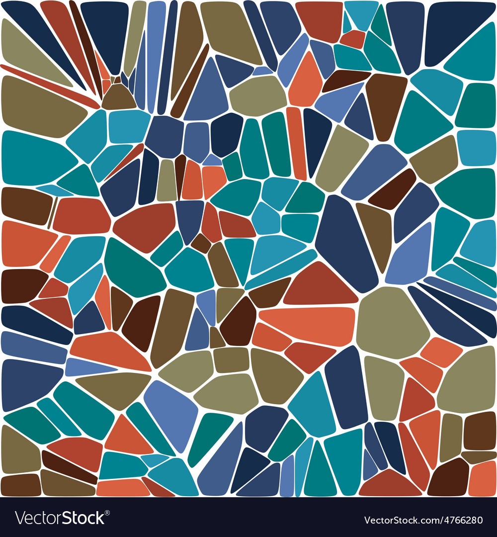 Tile abstract composition with ceramic geometric s vector | Price: 1 Credit (USD $1)
