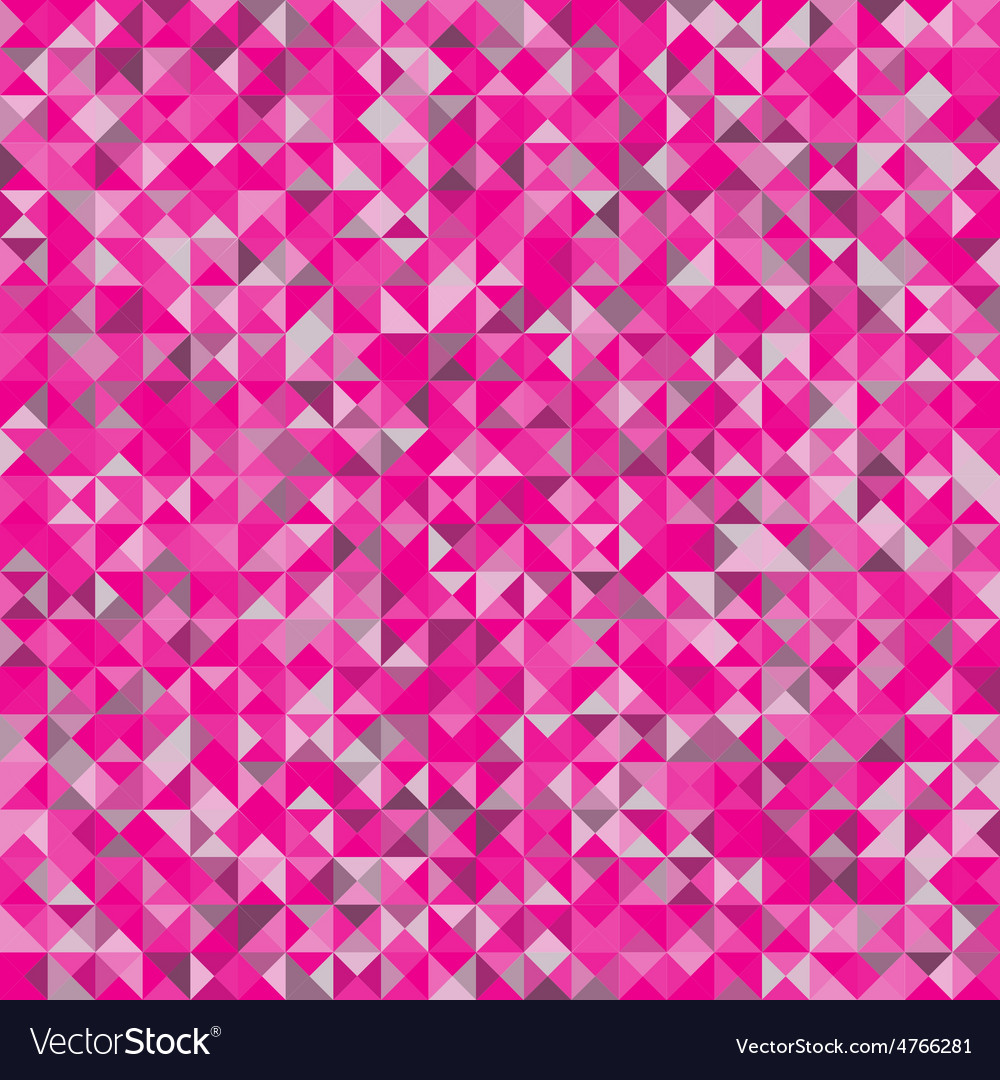 Background of geometric shapespink triangle seamle vector | Price: 1 Credit (USD $1)