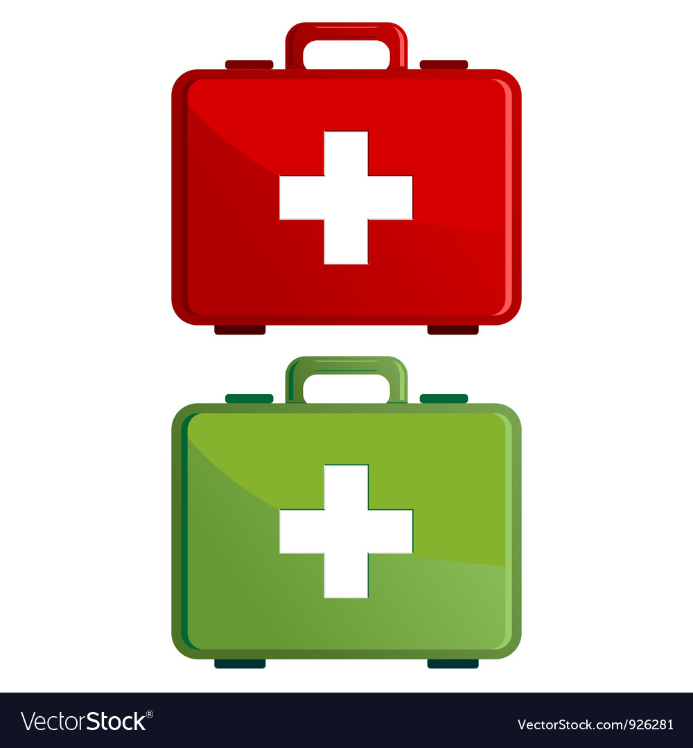 First aid kit case vector | Price: 3 Credit (USD $3)