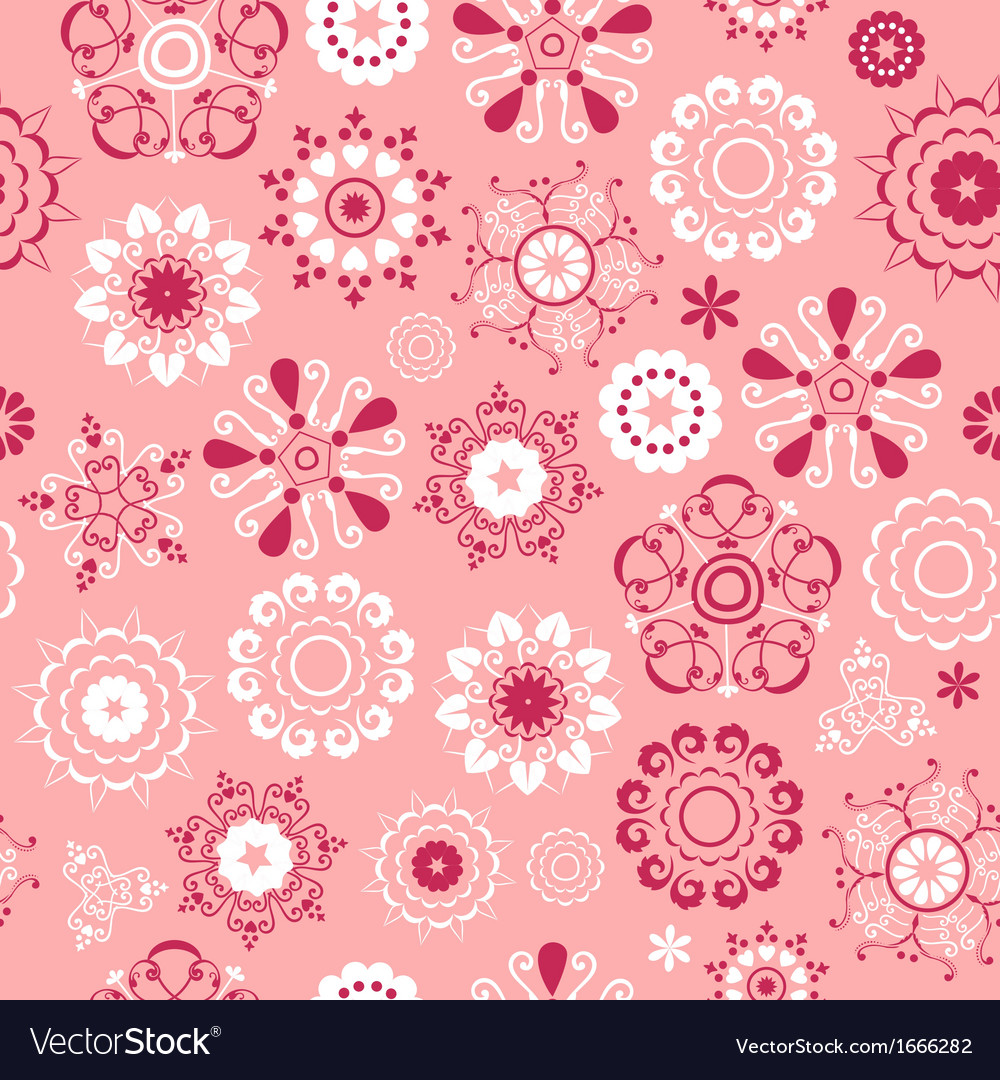 Flake pattern rose vector | Price: 1 Credit (USD $1)