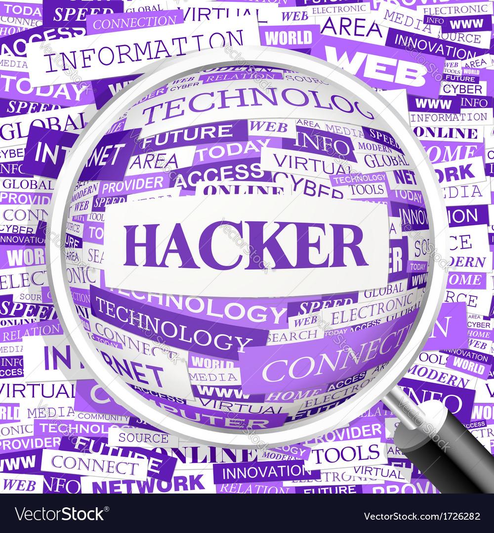 Hacker vector | Price: 1 Credit (USD $1)