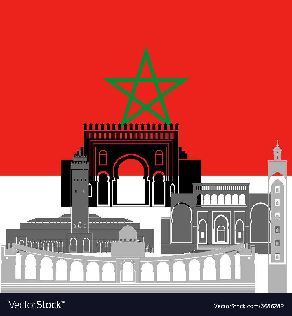 Morocco vector   Price: 1 Credit (USD $1)
