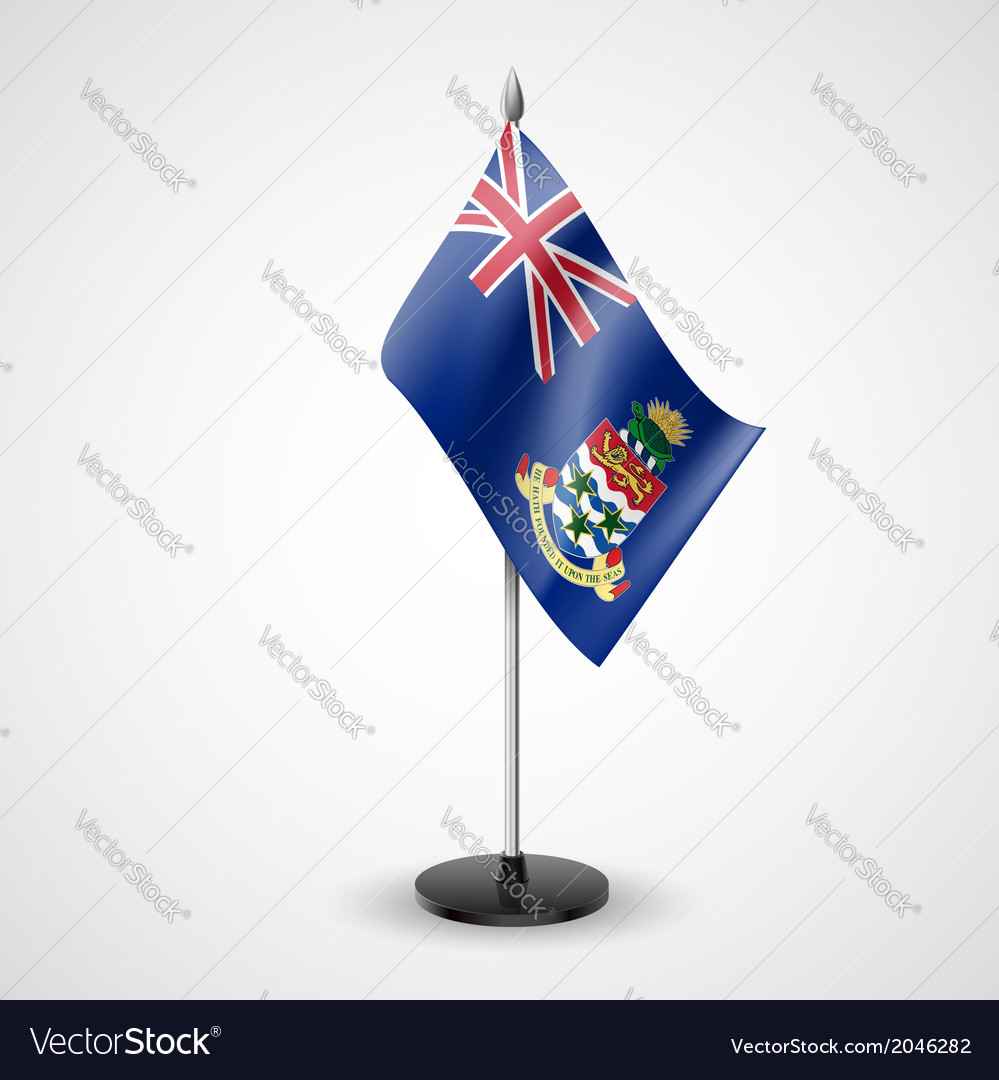 Table flag of cayman islands vector | Price: 1 Credit (USD $1)
