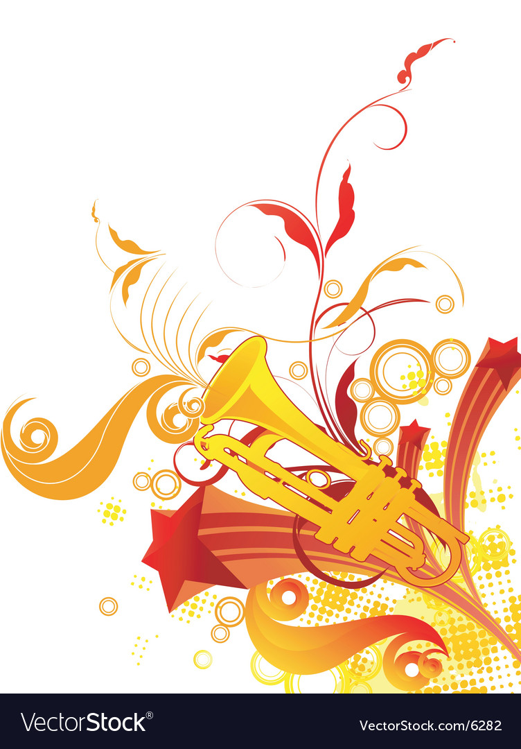 Trumpet graphic vector | Price: 3 Credit (USD $3)