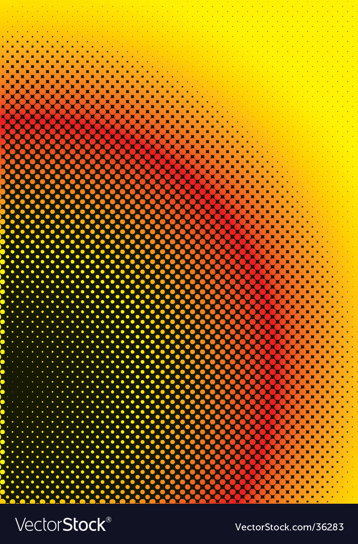 Halftone warm vector | Price: 1 Credit (USD $1)