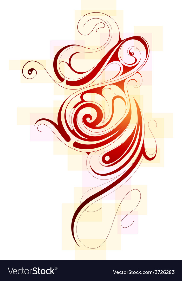 Liquid ornament vector | Price: 1 Credit (USD $1)