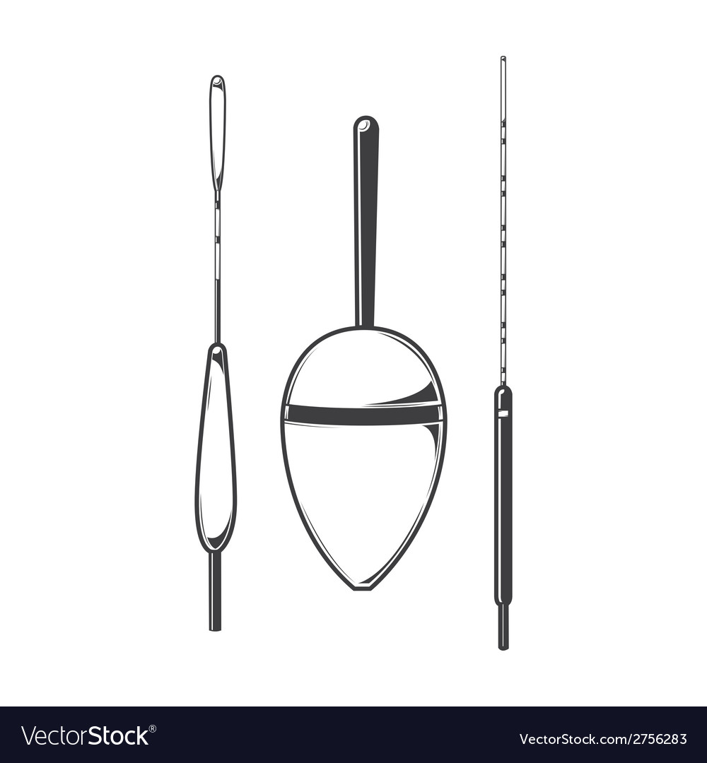 Set of fishing floats vector | Price: 1 Credit (USD $1)