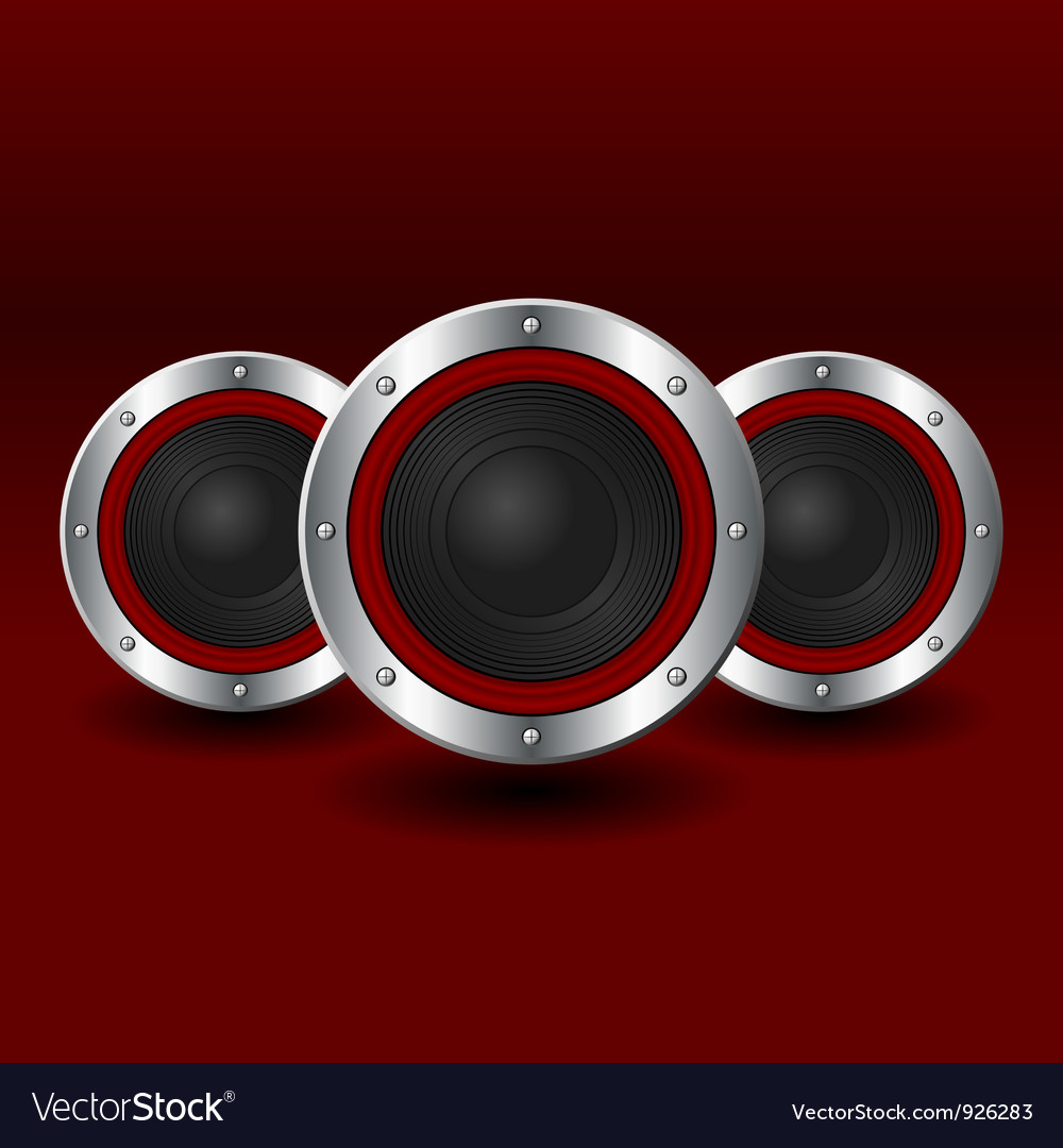Speakers background vector | Price: 1 Credit (USD $1)