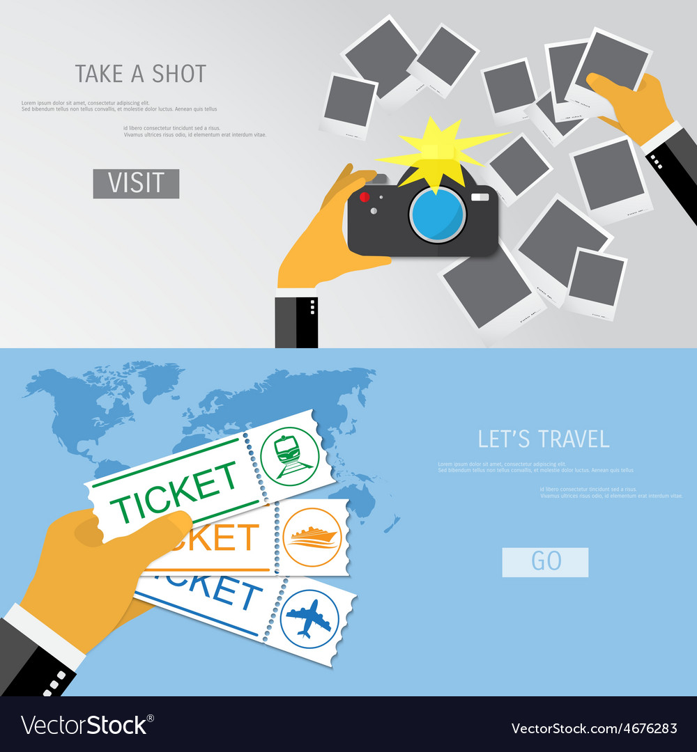 Take a shot and travel vector | Price: 1 Credit (USD $1)
