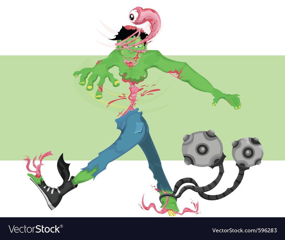 Zombie twist vector | Price: 5 Credit (USD $5)