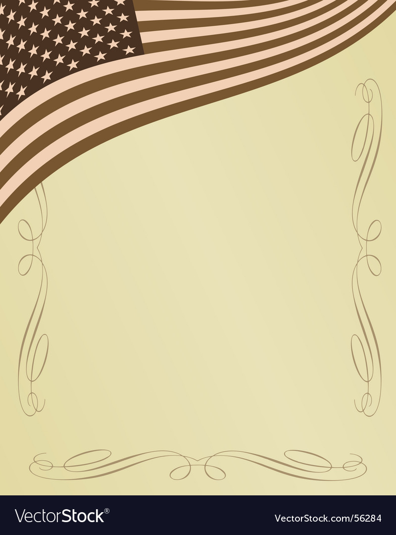 American page vector | Price: 1 Credit (USD $1)