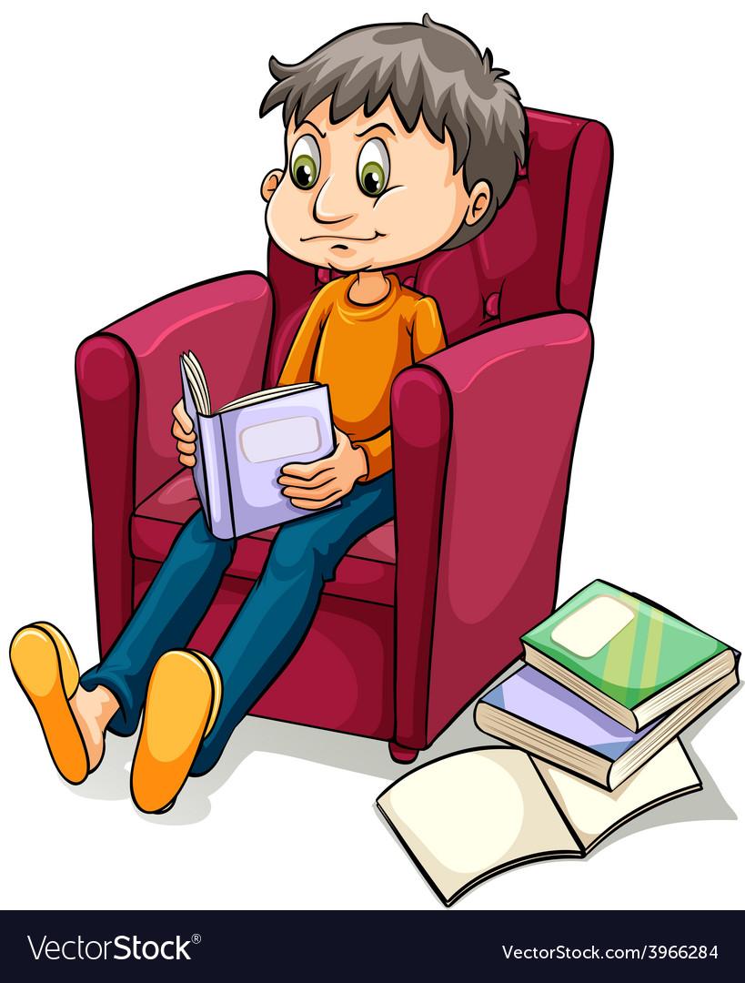 An armchair expert idiom vector | Price: 1 Credit (USD $1)